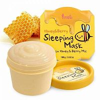 PRRETI Маска для лица Honey&Berry Sleeping Mask, 100 г