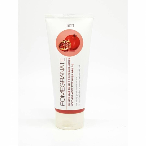 JIGOTT Пилинг-гель с экстрактом граната Premium Facial Pomegranate Peeling Gel
