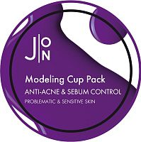 J:ON Альгинатная маска Анти-Акне и Себум Контроль ANTI-ACNE & SEBUM CONTROL MODELING PACK